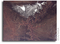 Grand Canyon Viewed From Orbit