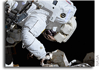 Astronauts Prepare For Contingency Spacewalk