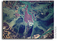 Orbital View Of Venice