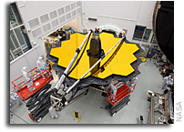 Watch Engineers Work on the Webb Space Telescope