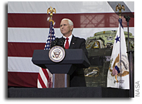 Vice President Pence Visits Kennedy Space Center