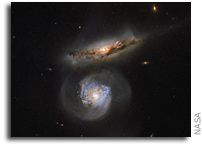 Hubble's Megamaser Galaxy