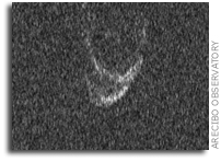 Arecibo Observatory Images Comet 45P/Honda-Mrkos-Pajdusakova