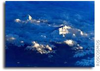 Twilight View Of Mt. Everest From Orbit