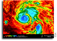 Copernicus Sentinel Measures Hurricane Harvey