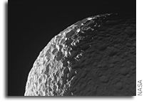 New View of Saturn's Moon Mimas