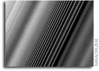 Cassini Views Saturn's Rings
