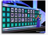 Playing Wheel of Fortune With NASA Public Affairs