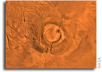Mars' Arsia Mons and Earth's Dinosaurs Went Extinct About the Same Time