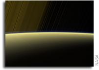 Cassini Continues Its Grand Finale