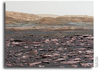 Curiosity Begins Study of Vera Rubin Ridge on Mars