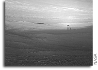 Opportunity Rover Team's Tilted Winter Strategy Works