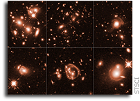 Gravitation Lensing Imagery of the Brightest Infrared Galaxies