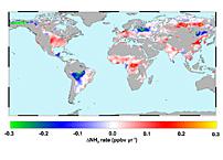 Aqua Satellite Identifies Global Ammonia 'Hotspots'