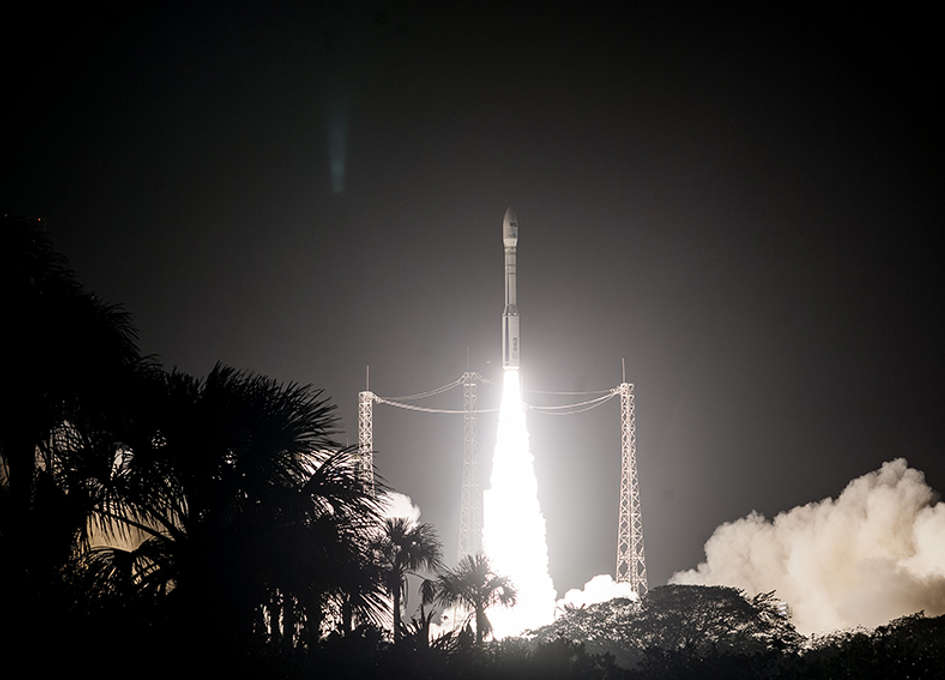 Arianespace Successfully Launches the Sentinel-2B Satellite