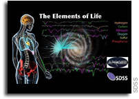 The Elements of Life Mapped Across the Milky Way by SDSS/APOGEE