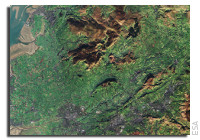 Earth from Space: Northwest England