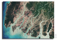 Earth from Space: Irrawaddy Delta, Myanmar