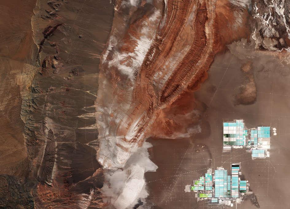 Earth from Space: Salar de Atacama, Chile