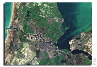 Earth from Space: Amsterdam, Netherlands