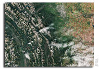 Earth from Space: Calgary