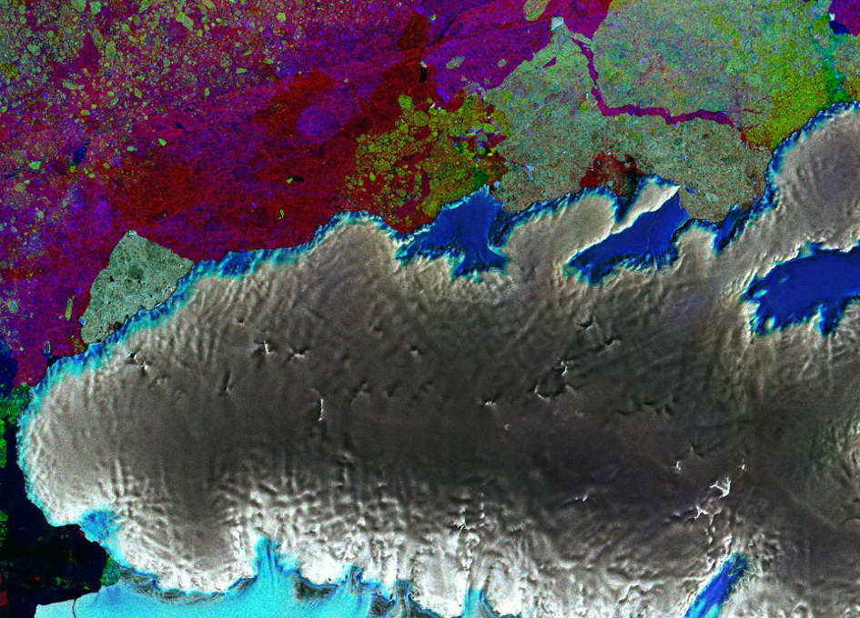 Earth from Space: Thurston Island, Antarctica