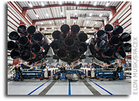 The First Falcon Heavy