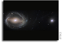 Galactic David and Goliath