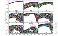 Gas - Grain Surface Chemistry In Molecular Clouds