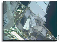 International Space Station Spacewalkers Perform Ongoing Station Power Upgrades