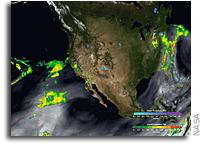 NASA Estimates the Global Reach of Atmospheric Rivers