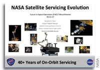 NASA Future In-Space Operations: NASA Satellite Servicing Evolution