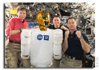 NASA Space Station On-Orbit Status 16 February 2017 - Dragon Capture Test and Robonaut Maintenance