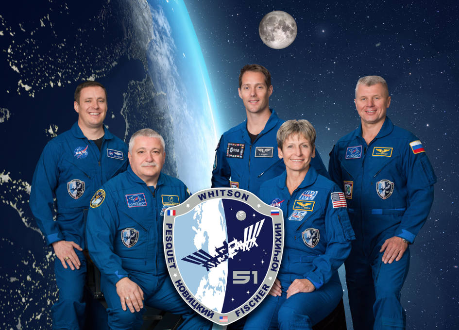 astronaut crews of the international space station role - photo #40