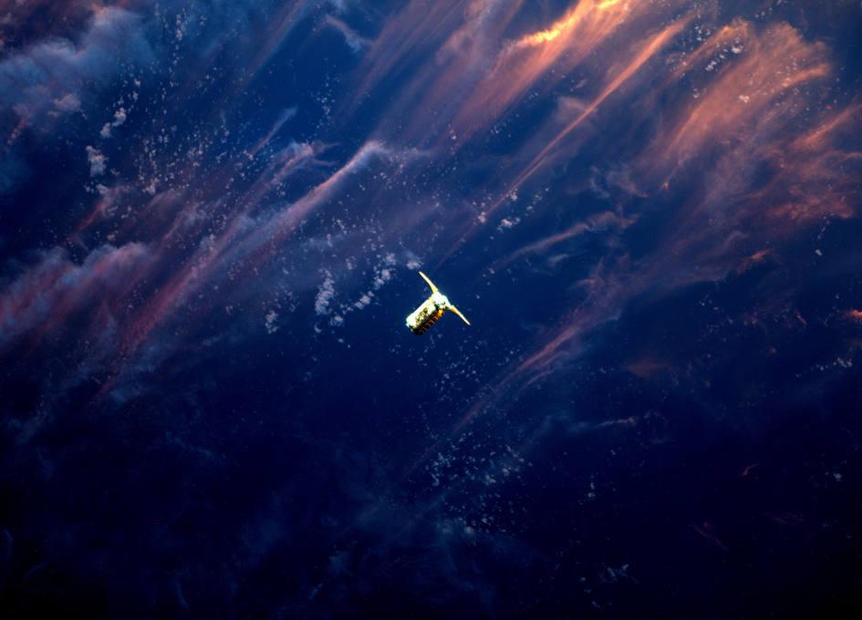 NASA Space Station On-Orbit Status 25 April 2017 - NanoRack External Platform Operations