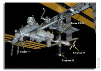 NASA Space Station On-Orbit Status 16 June 2017 - Progress 67 Russian Cargo Ship Docked