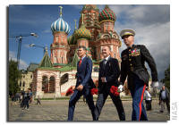 NASA Space Station On-Orbit Status 10 July 2017 - Expedition 52 Crew red Square Ceremony