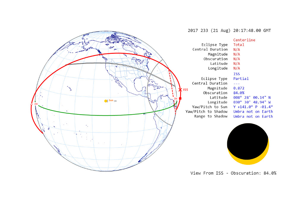 August Solar Eclipse Ground and Space Pics Out on www