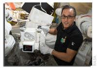 NASA Space Station On-Orbit Status 7 November 2017 - Testing a Personal Radiation Shielding Garment Today
