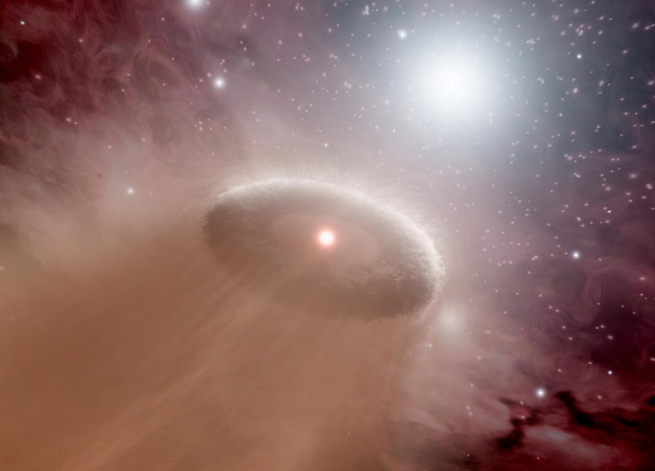Fledgling Stars Try to Prevent Neighbors from Birthing Planets