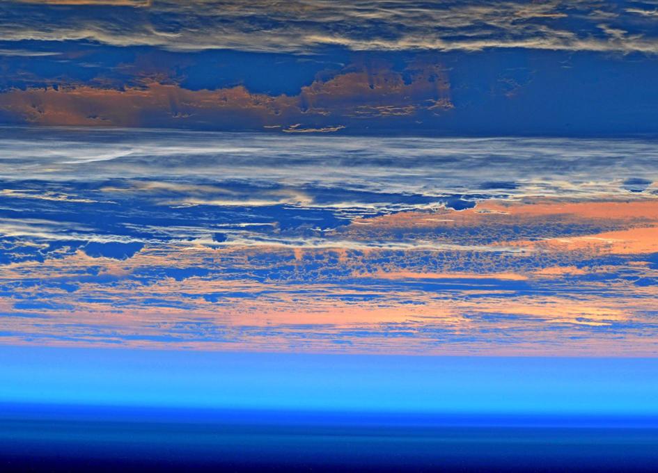 Orbital View Of Sunrise or Sunset?
