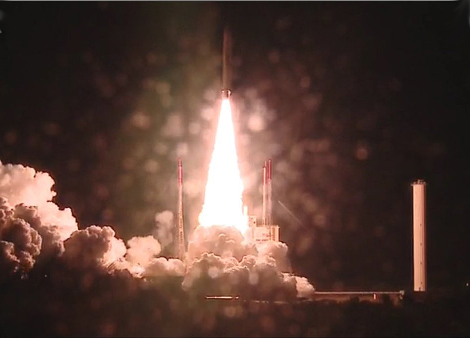 Ariane 5 Launches Its Heaviest Telecom Payload