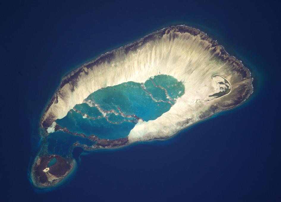 Seychelles Seen From Orbit