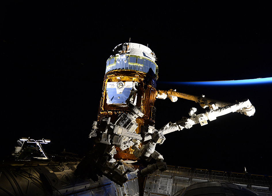 HTV-6 Released From The International Space Station