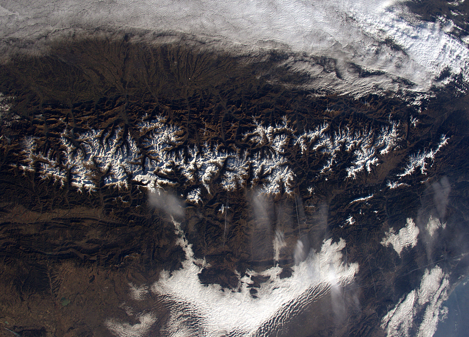 The Pyrenees Seen From Orbit