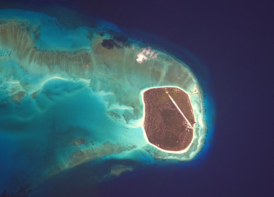 Glorioso Islands Seen From Orbit