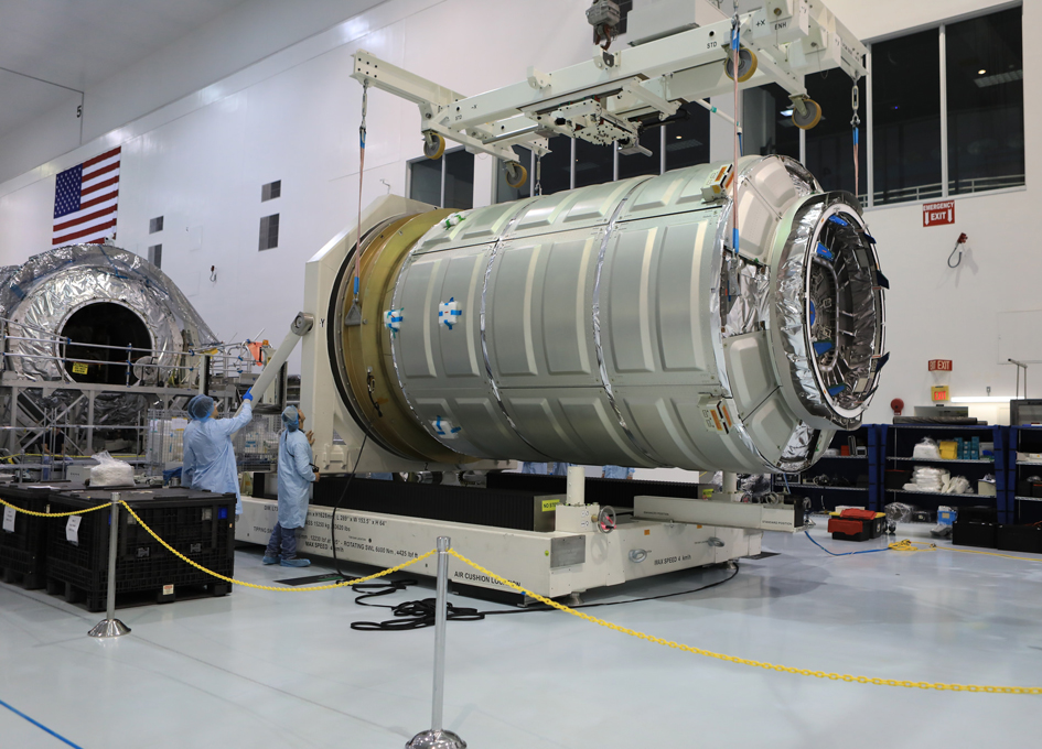 Orbital ATK OA-7 Cygnus Arrives in Florida
