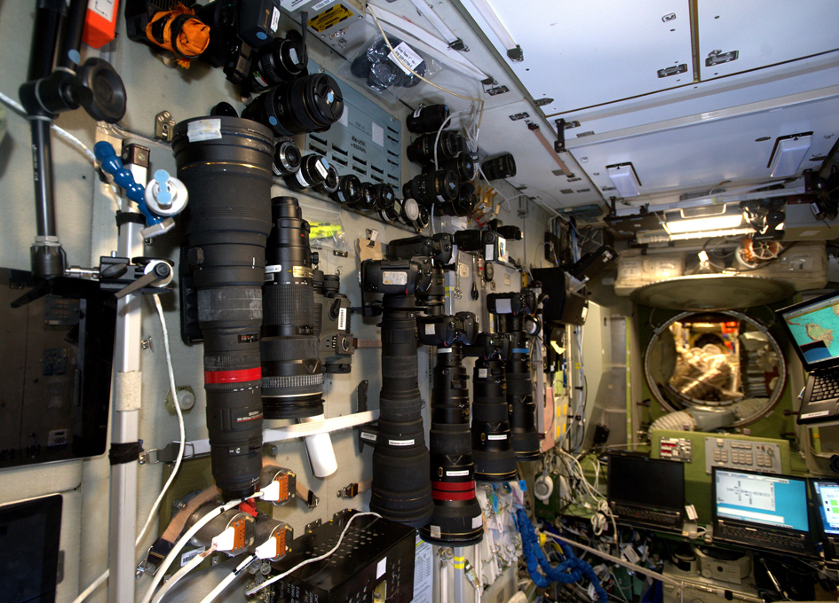 Monster Cameras on the International Space Station