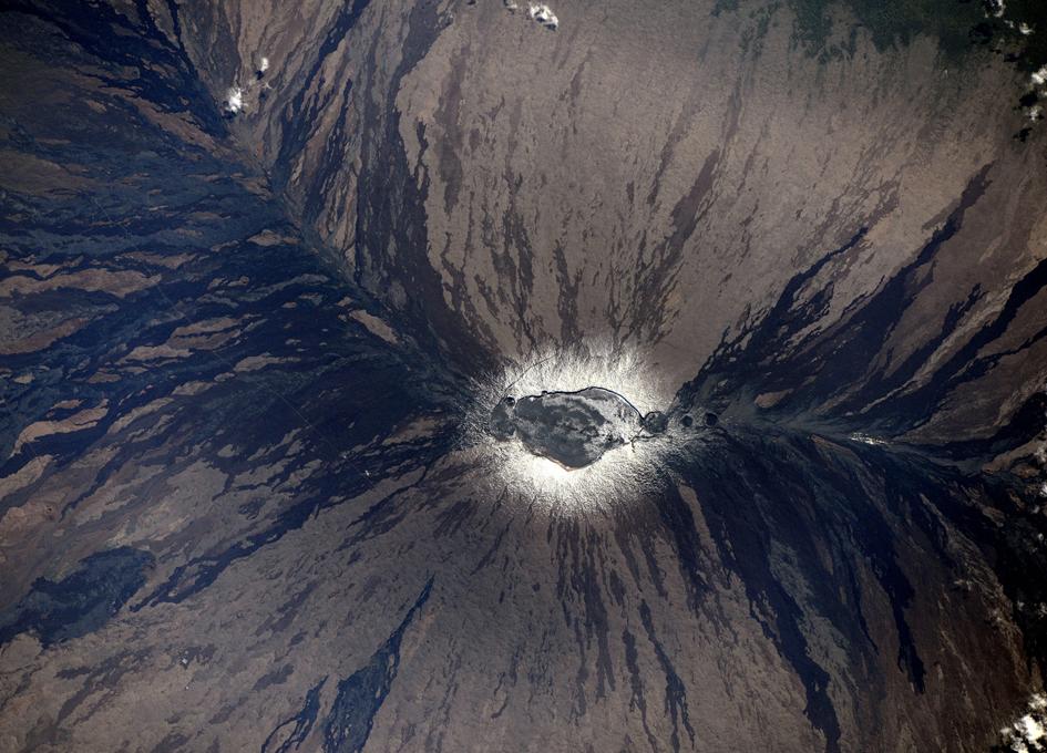 Mauna-Loa Volcano Viewed From Orbit