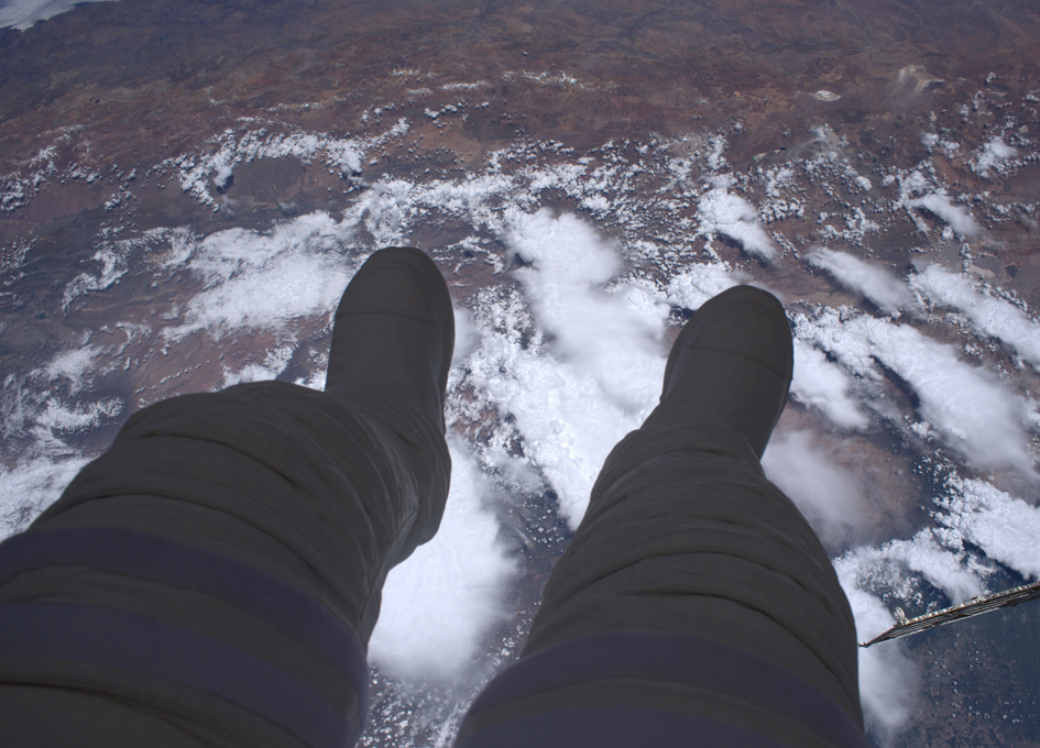 Thomas Pesquet: Dangling My Feet in Space